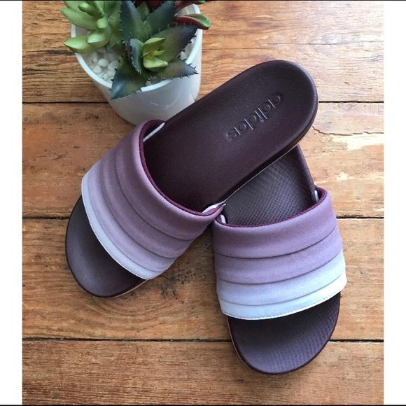 215e0e90687 adidas Shoes - Adidas Adilette Cloudfoam Women s Ombré Slides 7